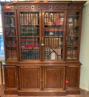 Late Victorian Mahogany 4 Door Library Bookcase (8 of 13)