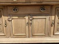 Wonderful Art Nouveau Bleached Oak Sideboard (21 of 26)