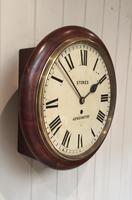 Mahogany Fusee Dial Clock (8 of 19)