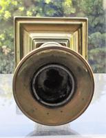 Antique English Georgian Brass Telescopic Candlestick (4 of 7)