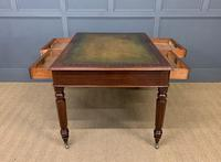 Victorian Mahogany 4 Drawer Partners Writing Table (11 of 13)