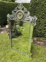 Venetian Mirror with Clock (2 of 6)
