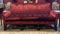 Jacobean Style Carved Mahogany Suite (7 of 7)
