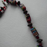 Venetian Glass Millefiore Bead Necklace (4 of 11)