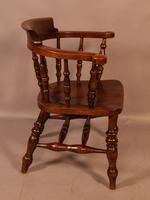 Set of 4 Victorian Captains Chairs (3 of 7)