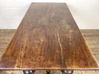 Antique Country Oak Dining Table (10 of 10)