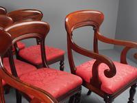 Set of 12 Scottish Mahogany Dining Chairs (6 of 18)
