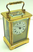 Classic Antique French 8-day Carriage Clock Timepiece c.1890 - L Epee & Camerer Cuss (9 of 10)
