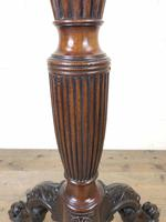 Antique 19th Century Mahogany Torchere Stand (5 of 6)