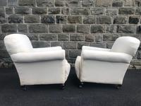 Pair of antique English armchairs for recovering (9 of 9)