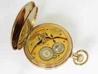 Antique Waltham Half Hunter Pocket Watch, 1913 (4 of 5)