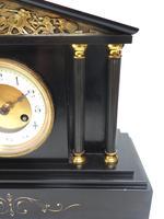 Amazing French Slate 8 Day Striking Mantle Clock (5 of 12)