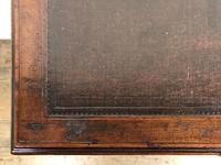 Edwardian Inlaid Mahogany Desk with Leather Top (5 of 11)