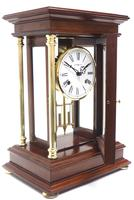 Howard Miller Signature Series Mantel Clock visible pendulum 4 Glass Mantle Clock (5 of 12)
