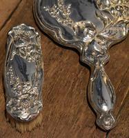 Fine Art Nouveau silver dressing table set (6 of 11)