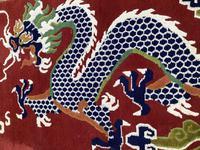 Vintage Tibetan Dragon Rug (4 of 8)