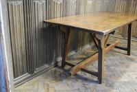 Spanish Chestnut Wood Tavern Table (2 of 8)