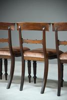 6 Mahogany Bar Back Dining Chair (7 of 8)