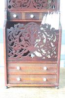19th Century Scottish Vernacular 'folk Art' Thistle Fretwork Spoon & Candle Box (16 of 36)