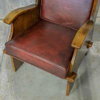 Pair of Elm Lambing Chairs (8 of 8)