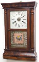 Antique American Ogee Wall Clock – Weight Driven Wall / Mantel Clock (12 of 12)