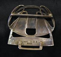 Archibald Knox Liberty & Co Cymric Silver Belt Buckle (3 of 7)