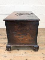 Antique Oak Coal Box or Scuttle (10 of 11)