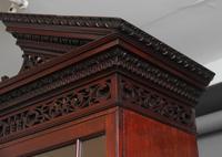 Superb Quality 18th Century Mahogany Bureau Bookcase (17 of 23)