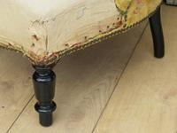 Pair of French Boudior Tub Armchairs for re-upholstery (4 of 8)