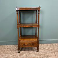 Spectacular Regency Gillows Rosewood Antique Whatnot (3 of 7)