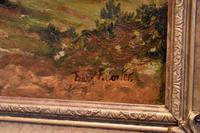 Oil Painting 'The Lledr Valley' by Frank T. Carter (4 of 9)