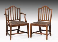 Set of Ten George III Period Mahogany Chairs (7 of 7)