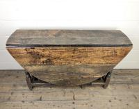 18th Century Oak Gateleg Table (2 of 10)
