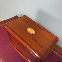 Inlaid Edwardian Mahogany Antique Writing Slope / Box (4 of 4)