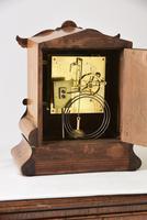 W&H Walnut Bracket / Mantel Clock (4 of 4)