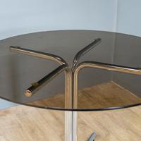 Glass & Chrome Dining Set (7 of 10)