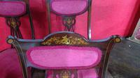 Edwardian Parlour Chairs (3 of 4)