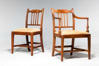 Set of Eight George III Period Dining Chairs 'Six Side Chairs plus Two Armchairs' (4 of 9)