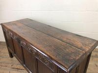 Antique Carved Oak Coffer (12 of 13)