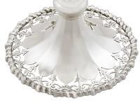 Sterling Silver Flower Vases - Antique George V 1913 (5 of 9)