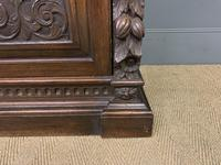 Imposing Carved Oak Bookcase (13 of 23)