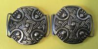 Silver Belt Buckle  Chester 1935 in the Style of Alexander Ritchie. (5 of 5)