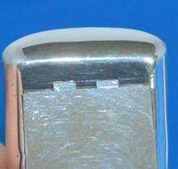 GIII curved silver rectangular snuff-box (3 of 7)