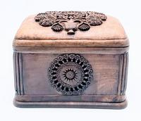 Antique Balian Hand Carved Wooden Box - Highly Ornate (3 of 5)