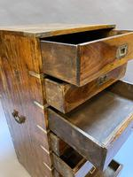Colonial Campaign Chest of Drawers (7 of 10)