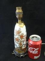 Excellent Japanese Meiji Period Lacquer on Porcelain Vase- Converted to a Lamp (5 of 7)
