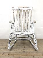 Antique Distressed Painted Rocking Chair (2 of 9)