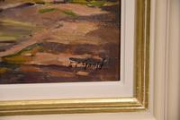 """Oil painting by Alec Caruthers Gould """"Porlock"""""""" (11 of 11)"""