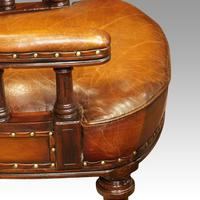 Pair of Victorian leather desk chairs (2 of 7)