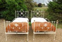 Pretty Pair of Victorian Large Single Beds Seventh Heaven (2 of 11)